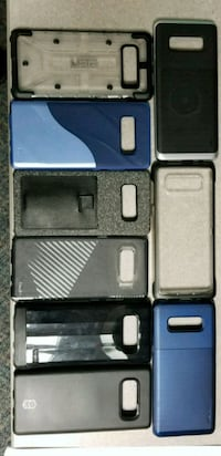 black Samsung Galaxy Note 4 with case and box Stafford, 22556