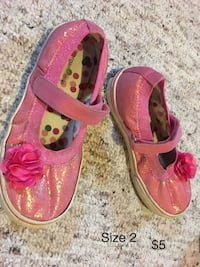 Girls assorted shoes