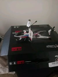 black and white quadcopter drone with box Richmond, 48062