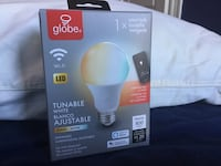 Globe Smart Lightbulb Dimmable white BRAND NEW (or set of 2 for $50) Boston, 02215