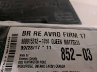 Simmons avro queen matress Toronto, M1B 2K6