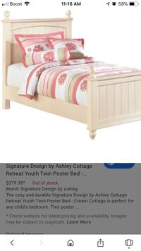 Ashley Twin Bed