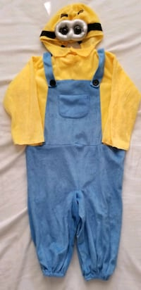 Minion costume, size 3-4t
