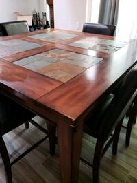 Dining Table w 6 chairs Aurora, 80013