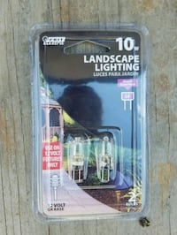 10W Landscape lighting bulbs for G4 light by Feit  Haughton, 71037