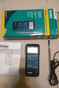 Extech - Hot wire Anemometer - 407123 Alexandria, 22312