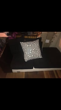 Black and white throw pillow and sofa Lincolnton, 28092