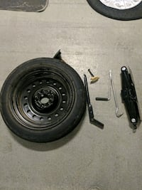 1997 Cadillac Seville spare tire and Jack Houston