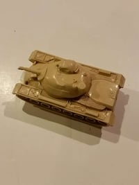 Vintage diecast plastic toy tank Sterling, 20165