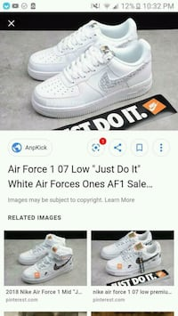 Just Do It Air Force 1s Omaha, 68104