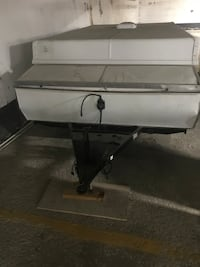 Retractable trailer for camping
