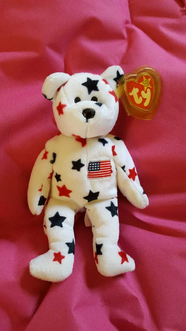 Used Rare Glory Beanie Baby contains Tag error for sale in Sand Springs -  letgo 2436f75e0a4