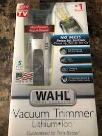 Wahl Cordless Vacuum Trimmer