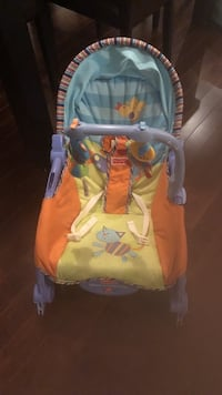 Fisher price new-born toddle bouncer Montréal, H4N 0C3
