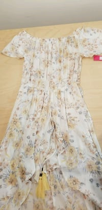 Floral Maxi Dress Romper New With Tags Burke, 22015