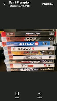 assorted Sony PS3 game cases Jacksonville, 32222
