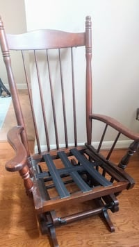 Vintage Glider Rocking Chair by Tell City