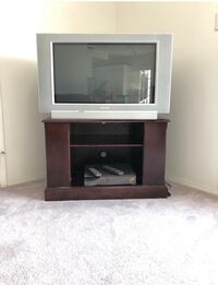 "OBO  TV Stand Approx  L 35"" x H23"" x W 20"" (TV SOLD) Edmonton, T6W 2S8"
