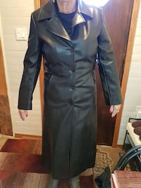 X long black leather coat XL Winnipeg, R2J