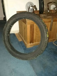 Harley Davidson front motorcycle tire