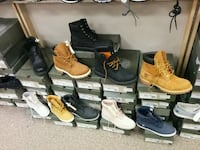 unpaired Timberland work boot lot Toronto, M1L 2L6