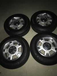 17 inch Ford Factory Wheel set  Los Angeles