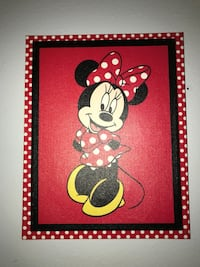 black and white Mickey Mouse print wall decor Tracy, 95377