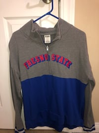 gray and blue Pink by Victoria's Secret hoodie Porterville, 93257