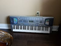 gray and black electronic keyboard Mississauga, L5V 1K5