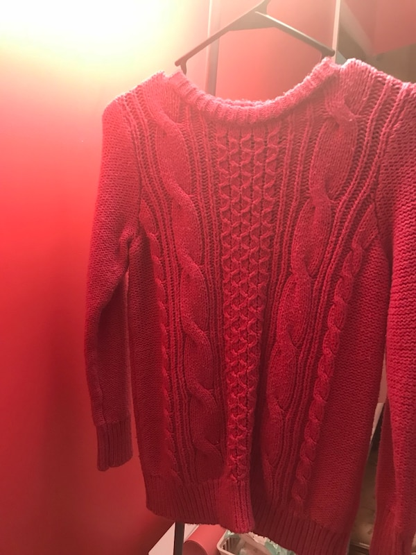 Kids Pink Abercrombie Sweater