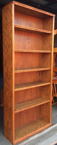 7' x 3' Oak Bookcase with 6 Tiers Lakeville, 55044