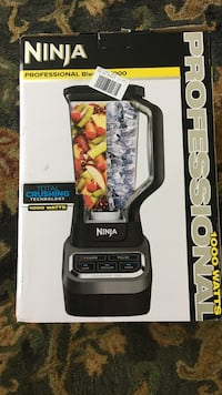 Black and gray ninja blender Grosse Pointe Farms, 48236