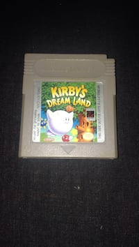 Nintendo  Gameboy game - Kirby's Dream Land