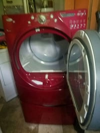 red front-load clothes washer Temple Hills, 20748