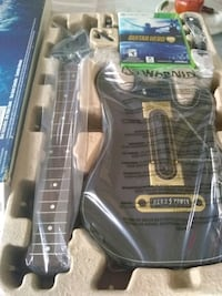 black and gray electric guitar Los Angeles, 90043