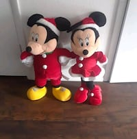 Mickey and Minnie Mouse plush toys 828 mi