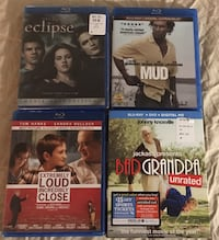 ASSORTED BLUE RAY $1.75 EACH