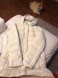 North face down filled parka