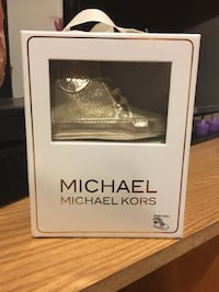 """Brand New Gold Michael Kors high tops 9-12M """"Baby Ana Style"""" Centereach, 11720"""