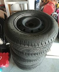 Almost NEW Set of 4 all season tires P21570R15 only used 3 months Vaughan, L4H 1C2