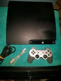 Sony Playstation 3 Slim 160GB Console with 10 Video Games