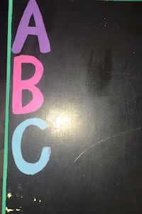 DIY kid's chalkboard abc Ventura, 93001
