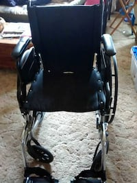 Black Nova wheelchair Vista, 92084