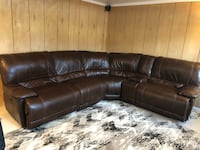 Electric reclining sectional with storage Huntington Station, 11746