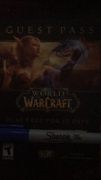 World of Warcraft guest passes. 47 km
