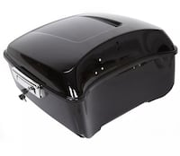 Black Harley Tour pak pack trunk  for 2014-UP touring Upton, 01568