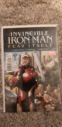 Invincible Iron Man 506 comic book Toronto, M6M