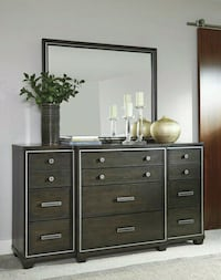 Zimbroni Brown Dresser   Houston