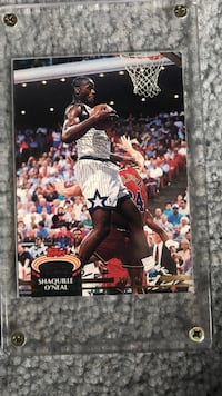 92-93 Topps Stadium Club Shaquille Oneal Springfield, 22153