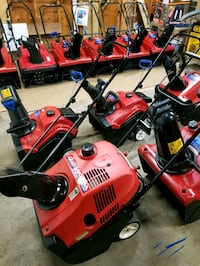 SNOWBLOWERS ALL BEEN SERVICED  PRICE FROM $185 TO $585